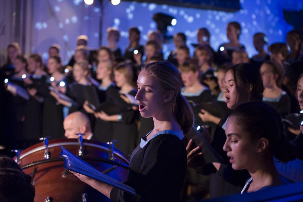 Sankt Annæ Pigekor på Kulturnatten 2018